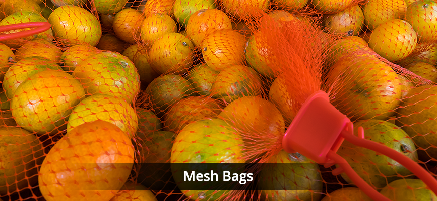Red Mesh bags